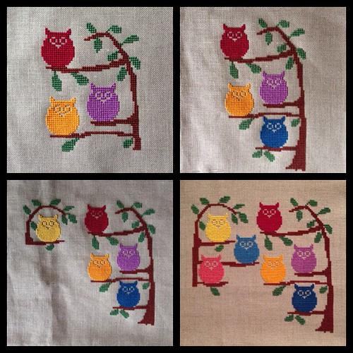 Owls piece WIP