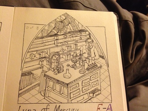 Thirty Days of Making: illustration