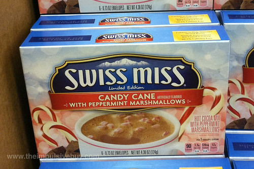 Limited Edition Swiss Miss Candy Cane with Peppermint Marshmallows