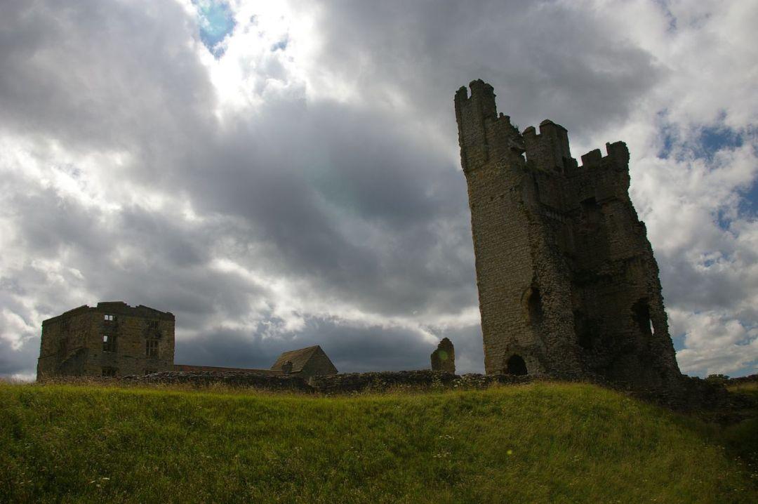 7. Castillo de Hemsley. Autor, Dvdbramhall