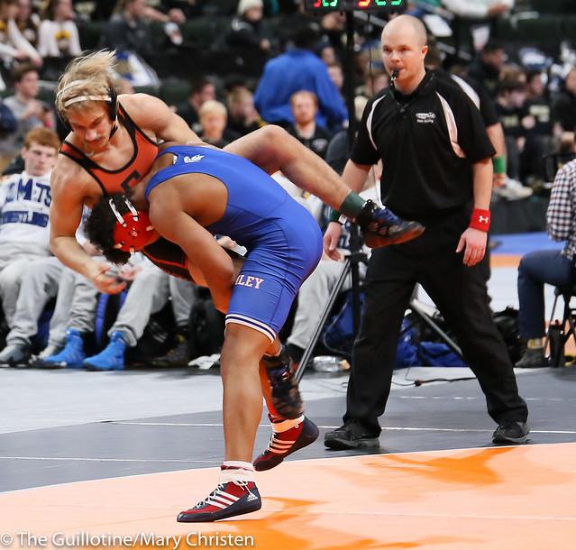 152 - Anthony Jackson (Simley) over Dylan Kislia (Grand Rapids) TF 20-3