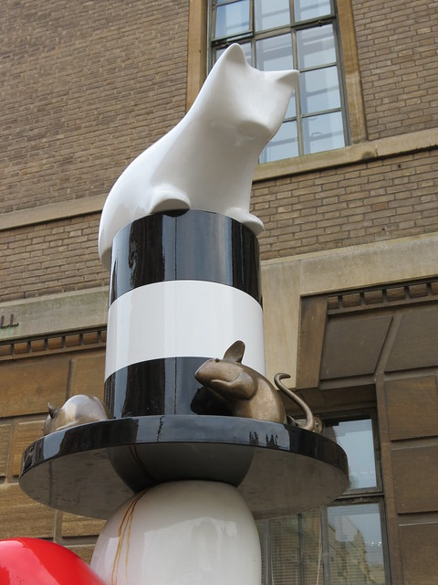 "Walter ""Snowy"" Farr memorial artwork in Cambridge, designed by Gary Webb"
