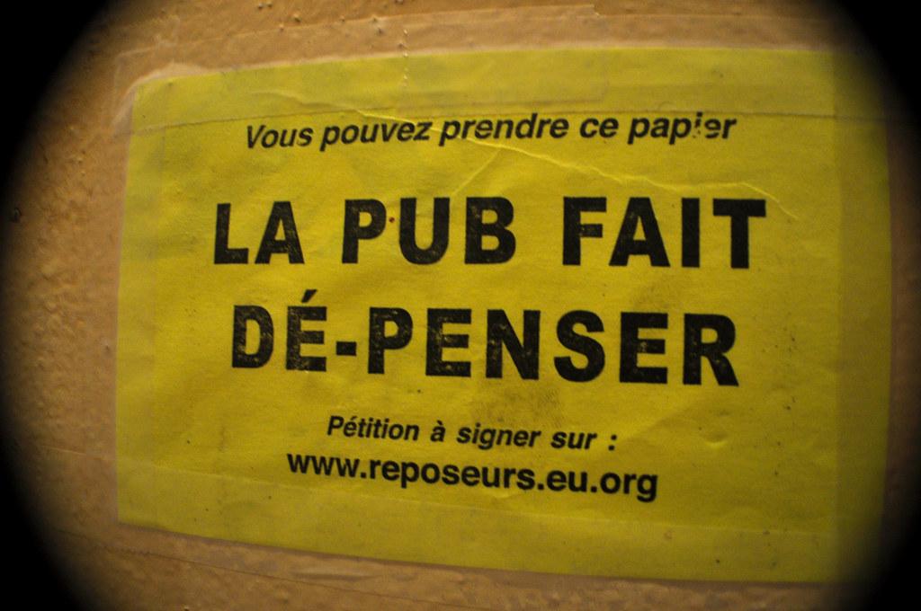 La Pub Fait Dé-Penser