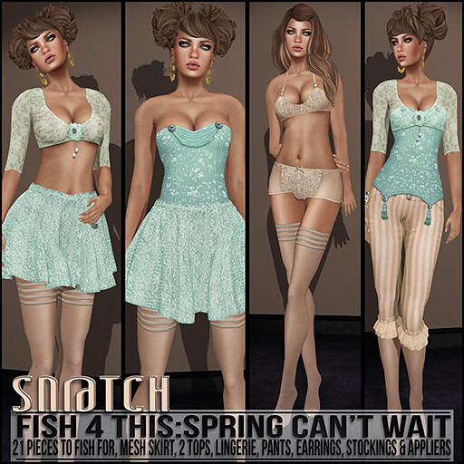 Sn@tch Fish 4 This Spring Can't Wait Vendor Ad SM