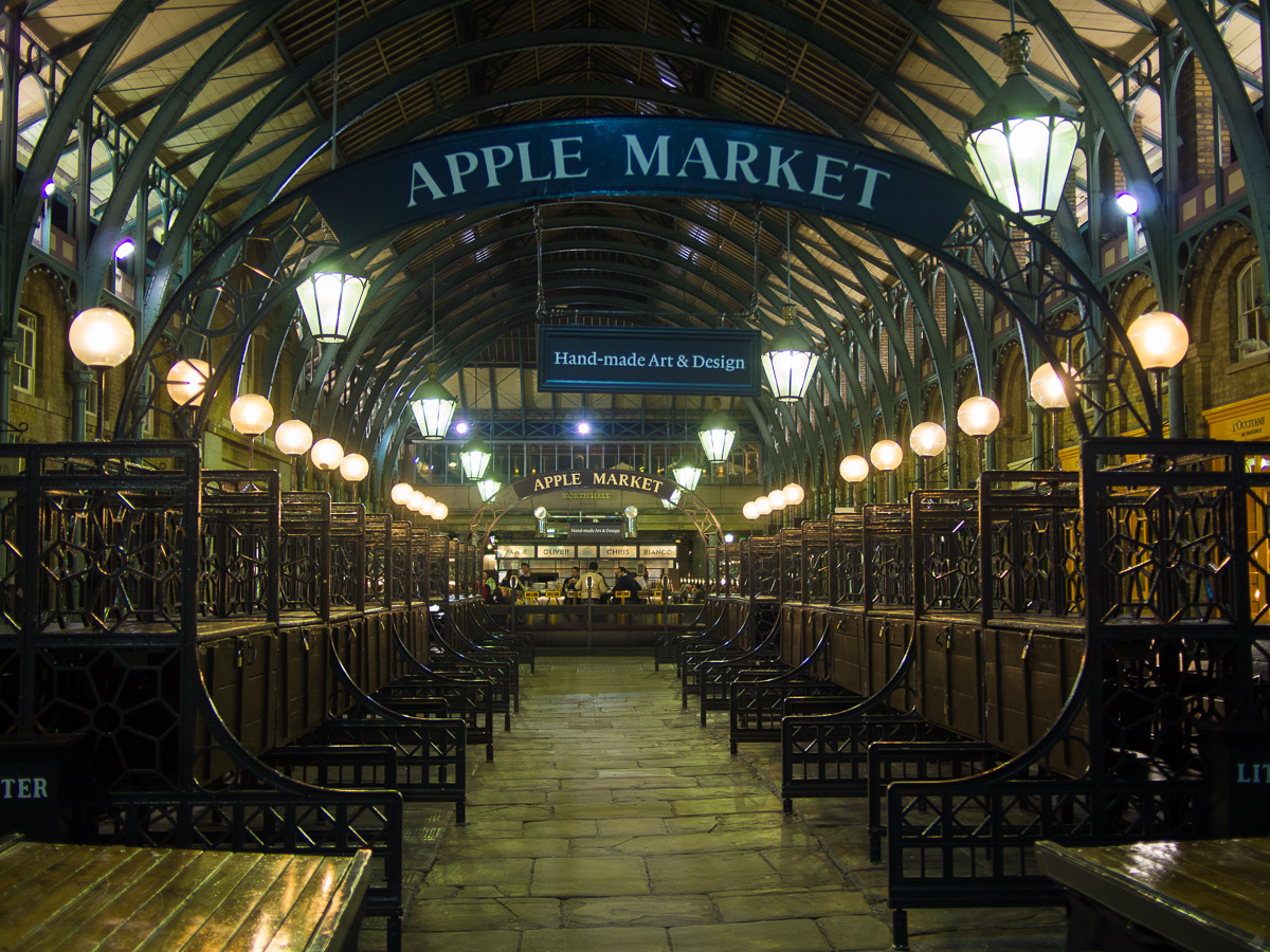 Apple Market en Covent Garden