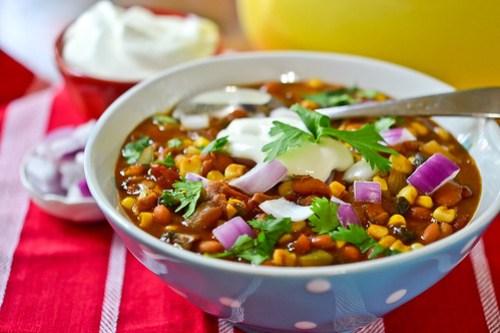 Vegetarian Chili-9