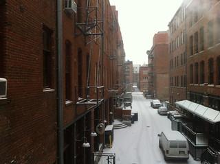 Downtown Denver: Snow