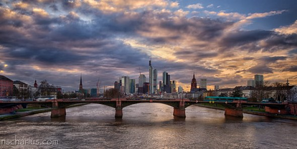 Frankfurt Panorama - Nikon D800E & Rokinon 3,5/24mm Shift & Tilt