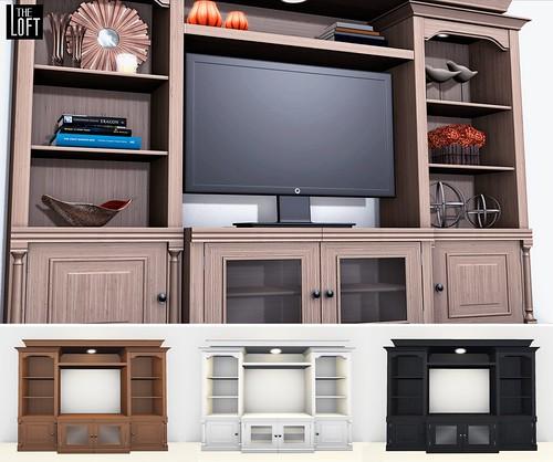 The Loft - TV Stand/Entertainment Center