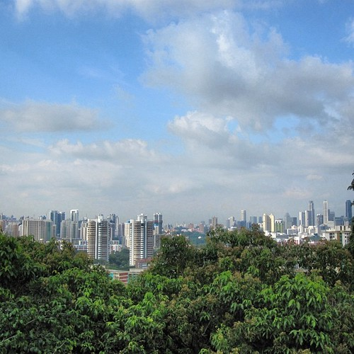 Chinatown from Mt Faber #singapore by @MySoDotCom