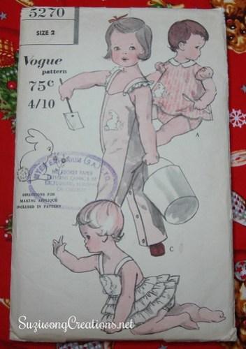 Vogue 5270 -  ca 1950s Australian pattern
