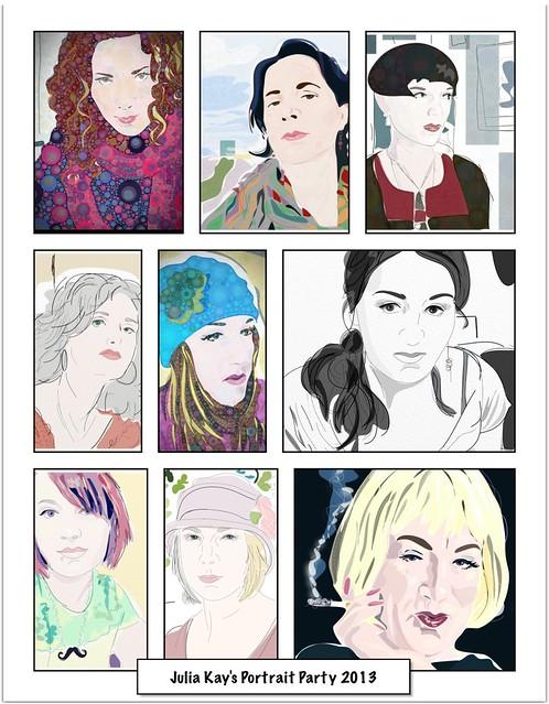 Julia Kay's Portrait Party 2013