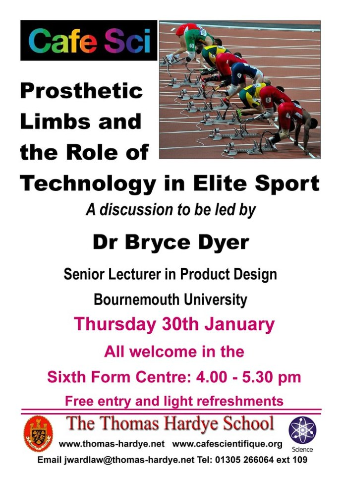 Poster for Dr Btyce Dyer