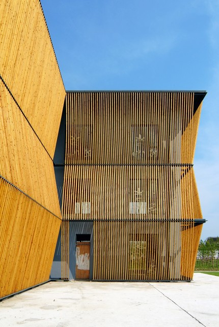 El Jardín de Pinos Verdes, arquitectura  ecológica e innovadora