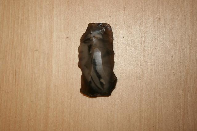 Flint found during geophysics