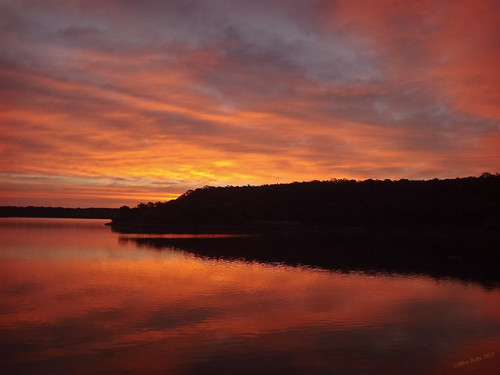 Early Morning at Lake Mineral Wells State Park - 0782
