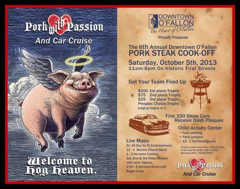 O'Fallon Pork Steak Cook-Off 10-5-13