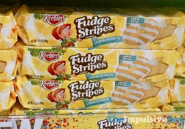 Keebler Limited Batch Lemon Cream Pie Fudge Stripes