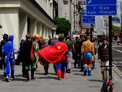 Superhero day out