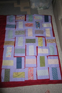 Reference for assembling Quilt Top