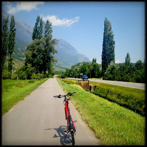 Piste cyclable - Martigny