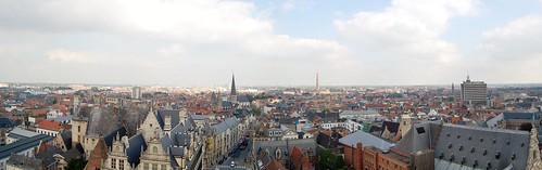 uitzicht vanop het Belfort