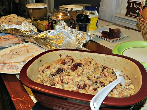 Cranberry Bacon Stuffing (12)