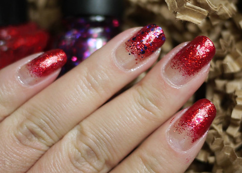Holiday Nails Just Be-Claus