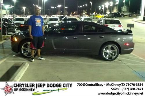 Dodge City McKinney Texas Customer Reviews and Testimonials-Mauryio Buckner by Dodge City McKinney Texas
