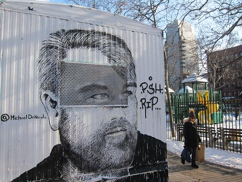 Centre-Fuge Public Art Project, Cycle 14: Michael DeNicola, RIP Philip Seymour Hoffman