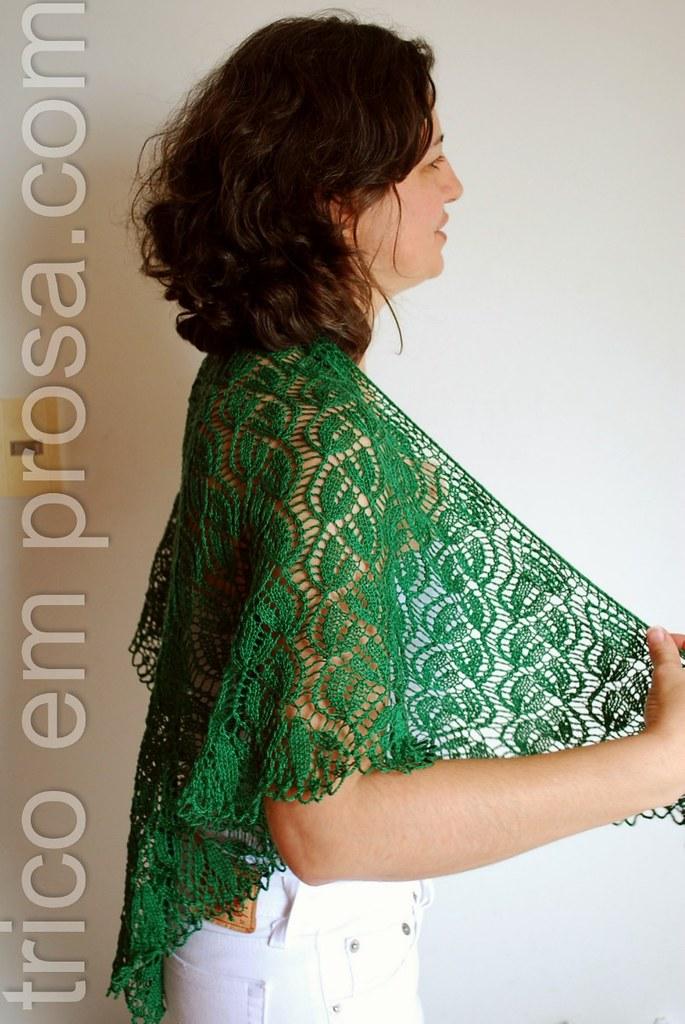 trico em prosa.com - um xale de verão - Dorothy