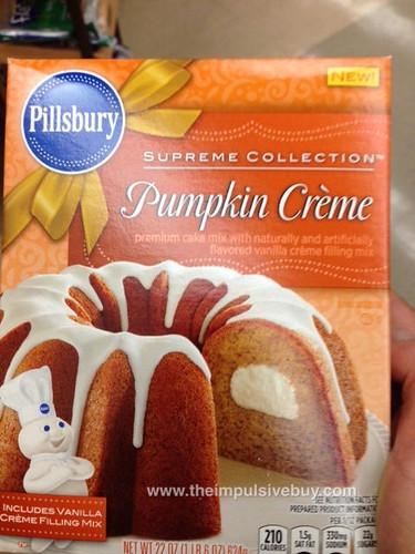 Pillsbury Supreme Collection Pumpkin Creme