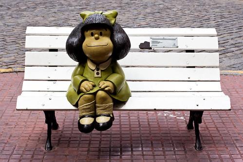 Homenaje a Mafalda en Buenos Aires