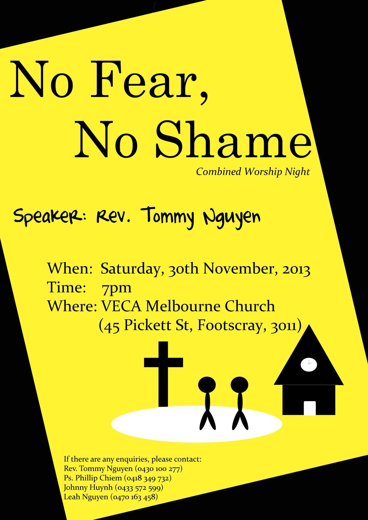 No Fear No Shame