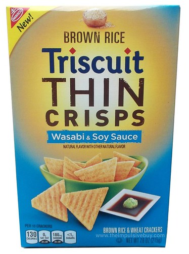Nabisco Wasabi & Soy Sauce Brown Rice Triscuit Thin Crisps