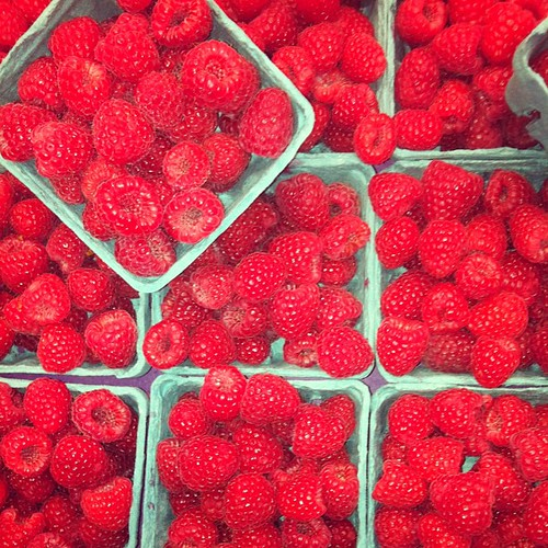 Pike Place market raspberries