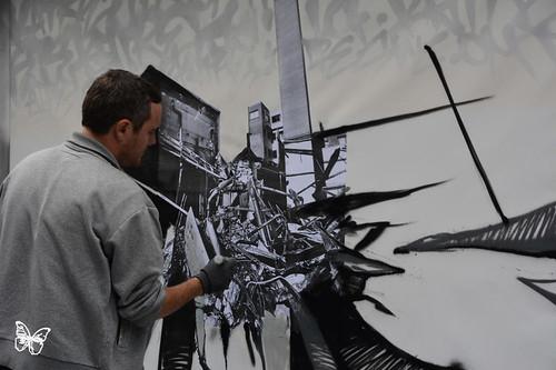 Paris Live Painting - Katre