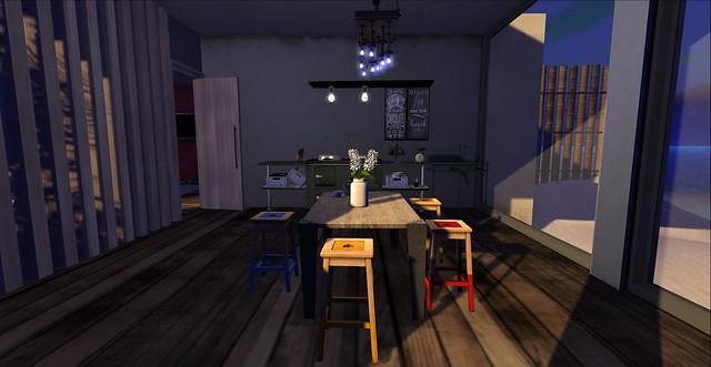Blue Lagoon Kitchen
