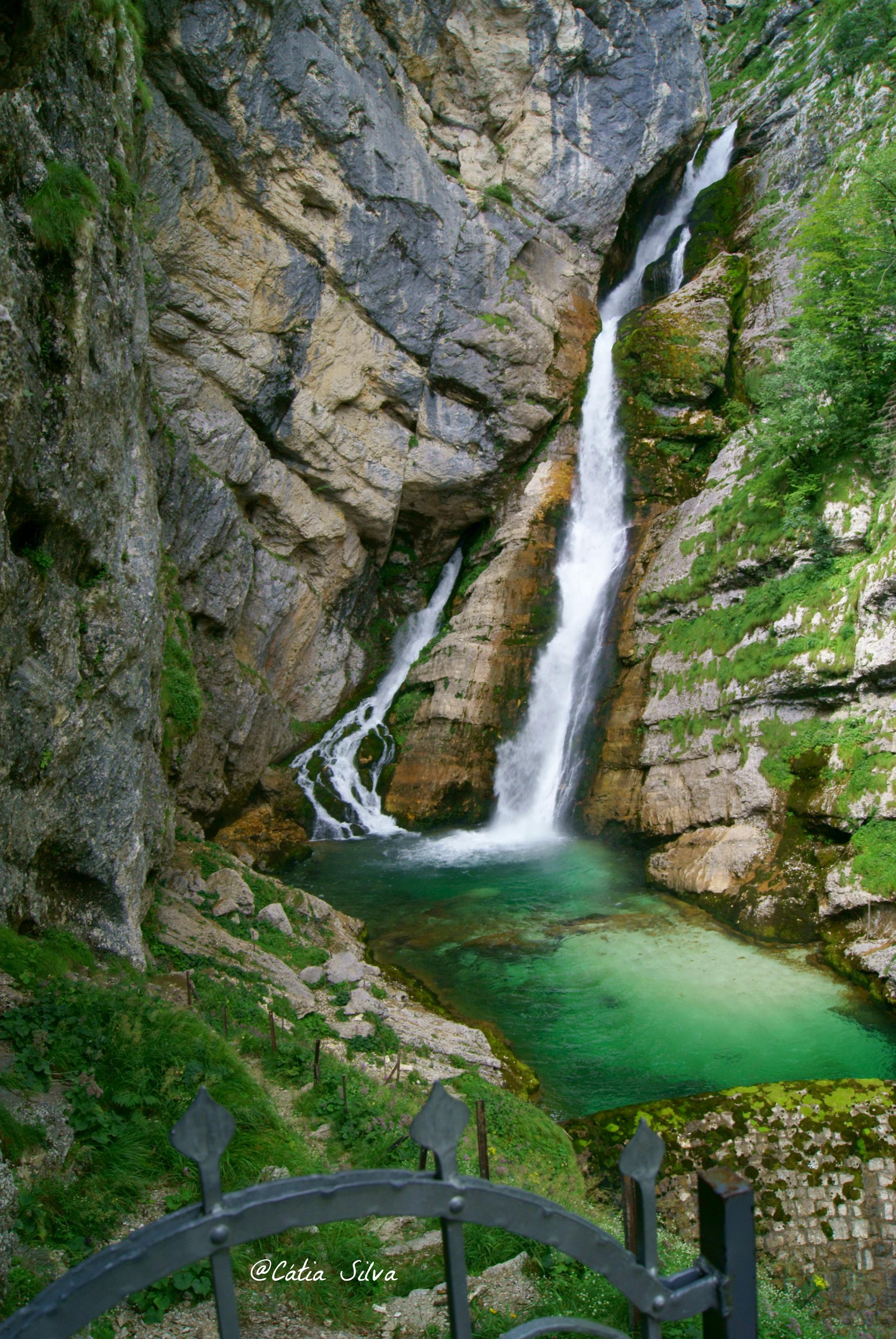 Slap Slavica - Lago Bohinj - Eslovenia (9)