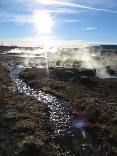 steaming streams