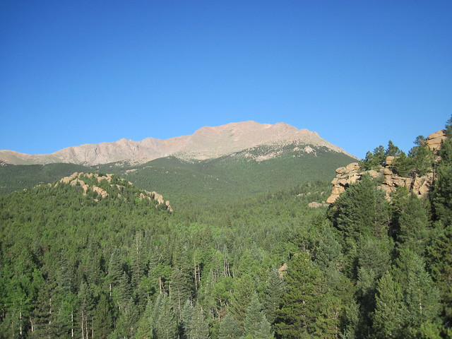 Picture from Barr Trail, Colorado