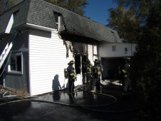 Fire at 641
