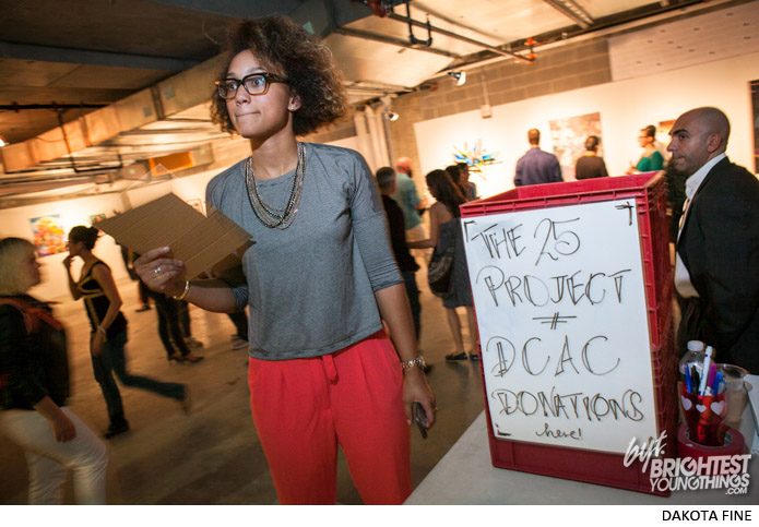 Media Rise Festival hosts Pitch Night at their pop-up gallery, the 25 Project on September 27th, 2013.