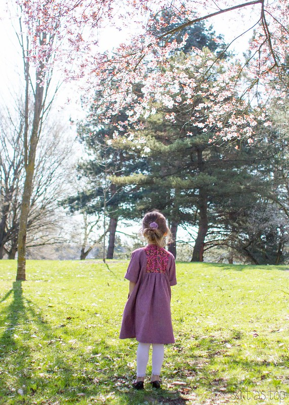springtime hide and seek dress