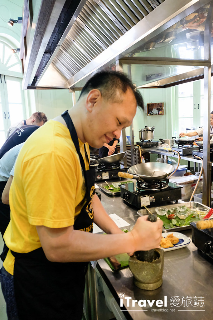 《曼谷泰菜学习》蓝象餐厅厨艺教室:正宗泰式料理烹饪课程