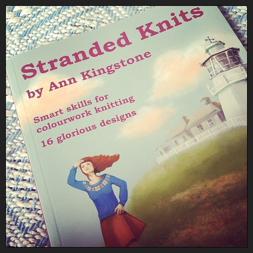 Gorgeous new book by Ann Kingstone arrived on my doorstep this week.