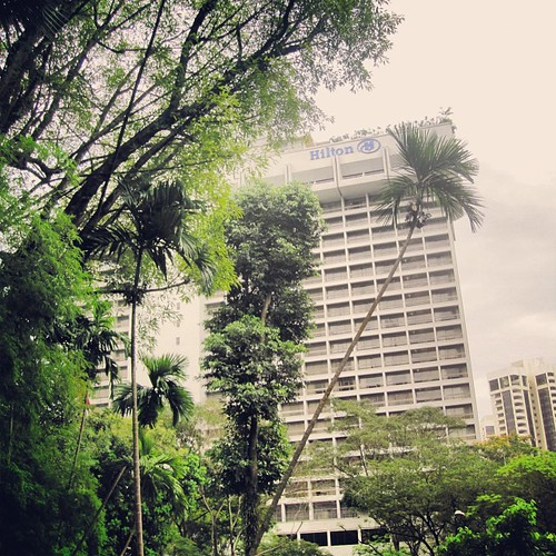 Hilton #singapore by @MySoDotCom