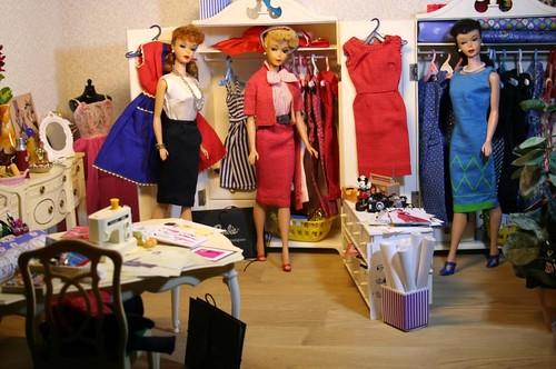 Busy fashion designers