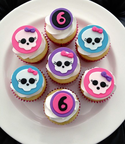 Cupcakes de Monster High