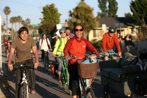 Santa Cruz Bike Party Friday June 21 2013